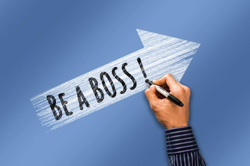 Career Boss Hand Write Arrow Rise  - geralt / Pixabay