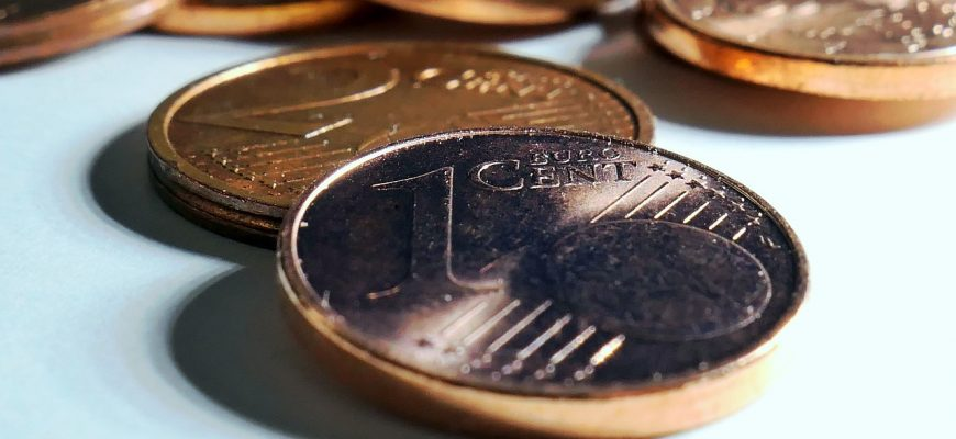 Cent Euro Cent Money Cash Currency