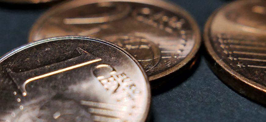 Cent Euro Cu Copper Money Change