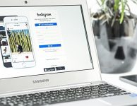 Instagram Social Media Web Pages
